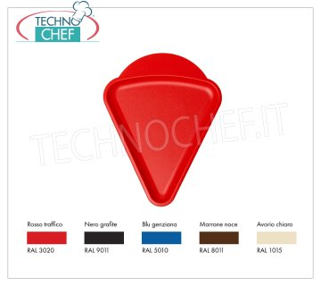 Mini Triangular Tray in food-grade polypropylene, Designer Collection Mini Triangular Tray in food-grade polypropylene, Designer Collection, available in different colors, dim.mm.240x310 - UNIT PRICE - Article available in PACKAGES of 50