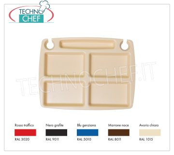 Mini Party tray in food-grade polypropylene, Designer Collection Mini Party tray in food-grade polypropylene, Designer Collection, available in different colors, dim.mm.310 × 235 - UNIT PRICE - This item can be purchased in PACKS of 30 pieces