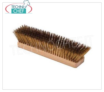 GI.METAL - Replacement Brass Brush, cm 27, Mod.111776 Replacement brush with brass bristles, 27 cm.