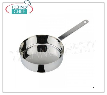 Ilsa - STAINLESS STEEL FRYING PAN 1 handle FRYING PAN 1 handle, Monoportions Collection, in STAINLESS STEEL, diameter mm.120, height mm.35.