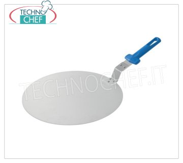 GI.METAL - Servipizza tray Ø 41, Mod.129169 Aluminum pizza tray with handle, 41 cm diameter (hanging product).