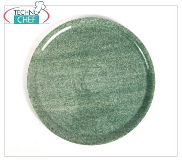 SATURNIA - PIZZA PLATE - GREEN GRANITE Porcelain Collection - Restaurant Dishes PIZZA DISH 31 cm, NAPLES Collection - GREEN GRANITE, Brand SATURNIA - Available for purchase in a pack of 6