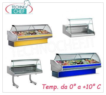Refrigerated exposition counters