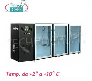 Counter refrigerator for bar