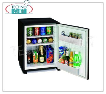Technochef - Frigor Minibar for hotel room, capacity 30 lt, Frigor minibar for hotel room, capacity 30 lt, temperature + 8 ° / + 14 ° C, V.230 / 1, Kw. 0.065, Weight Kg 13.5 - dim.mm.512x419x423h