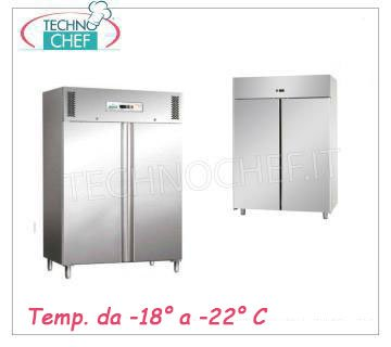 Double door upright coolers/freezers