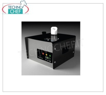 Sanitizing Machines - Hydrogen Peroxide - Atomizer NEBULIZER for Sanitizing Environments with Hydrogen Peroxide for environments up to 160 m / square (max 3 m high), Tanks 1.5 liters, V. 230/1, Kw.0.85 - Weight 7 Kg, Dim.mm 302x305x281h