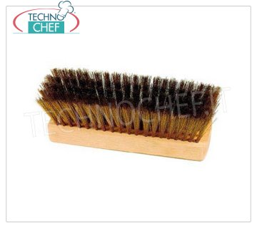 GI.METAL - Replacement Brass Brush, 20 cm, Mod.53263 Replacement brush with brass bristles, 20 cm.