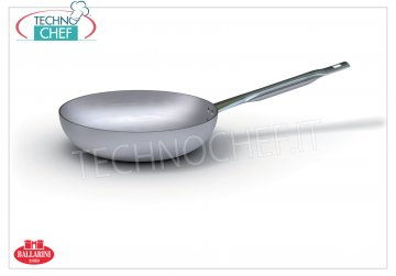 Ballarini Professionale - HIGH `` JUMP '' Aluminum FRYING PAN, Series 7000, thickness 3 mm HIGH COUNTERSUNK SAW pan, 1 handle, 7000 SERIES, in ALUMINUM, diameter 200 mm, high 55 mm