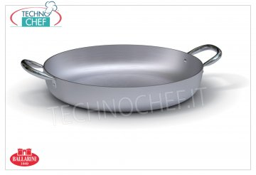 Ballarini Professionale - Aluminum skillet 2 handles, 7000 series, 3 mm thick 2 handle pan, SERIES 7000, in ALUMINUM, diameter 200 mm, high 55 mm