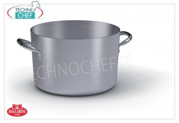 Ballarini - HIGH CASSEROLE 2 handles, PROFESSIONAL, Series 7000, thickness 3 mm High casserole 2 handles, SERIES 7000, in ALUMINUM, diameter 200 mm, high 145 mm