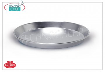 Ballarini Professionale - LOW CONICAL BAKING PAN in 3 m thick aluminum with EDGE, Series 7000 Low conical cake pan with rim, 7000 SERIES, in ALUMINUM, diameter 160 mm, high 30 mm
