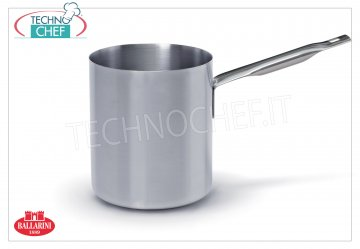 Ballarini Professionale - BAIN-MARIE pot aluminum 1 handle, Series 7000, thickness 3 mm Bain-marie 1 handle, SERIES 7000, in ALUMINUM, diameter 140 mm, high 180 mm