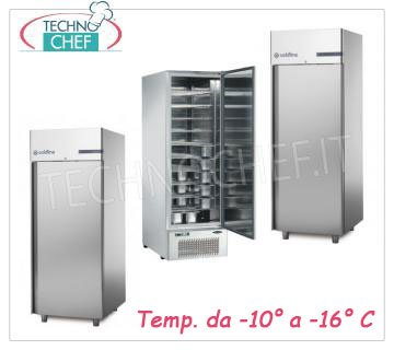 Refrigerated cabinets for soft ice-cream
