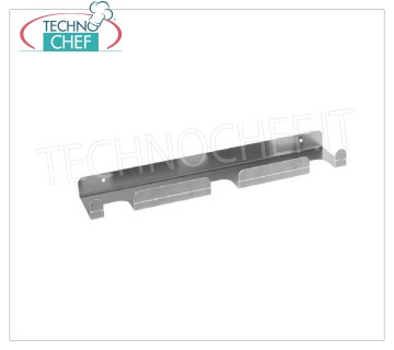GI.METAL - 3-place wall support, Mod.99364 3-place wall support (shovel, shovel, brush) in anodised aluminum.