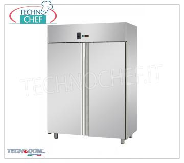2 door Frigor Pastry cabinet, lt. 1400, temp. -2 ° + 8 ° C. - professional 2-door Pastry Refrigerator Cabinet, capacity lt. 1400, operating temperature -2 ° / + 8 ° C, ventilated refrigeration, Pastry Pans 600x400 mm, V.230 / 1, Kw. 0.57, Weight 160 Kg, dim. mm.1420x800x2030h