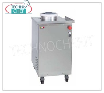 TECHNOCHEF - Professional ARR rounder, dough capacity from 30 to 300 gr, Mod. ARR / 300 Stainless steel rounder with teflon-coated aluminum screw, for sizes from 30 to 300 gr, V.230 / 1, Kw.0.37, Weight 47, dim.mm.390x580x790h