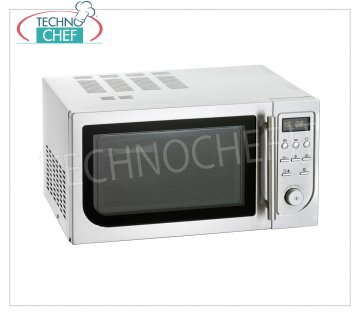 COMBINED MULTIFUNCTION oven: MICROWAVE, VENTILATED CONVECTION and GRILL with DIGITAL CONTROLS COMBINED MULTIFUNCTION Oven: MICROWAVE, VENTILATED CONVECTION and GRILL with DIGITAL CONTROLS, chamber capacity 25 lt, OUTPUT POWER Kw 0.9, internal chamber dimensions 340x344x220h mm, V.230 / 1, external dimensions 483x422x281h