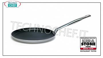 Ballarini Professionale - CREPES FRYING PAN in NON-STICK Aluminum 3 mm thick, 2000 Series CREPES PAN 1 handle, NON-STICK, 2000 SERIES, in ALUMINUM ALLOY, diameter mm.250