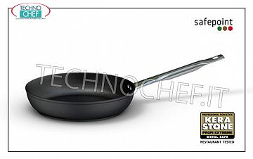 Ballarini Professionale - LOW FRAME 1 handle in NON-STICK FORGED Aluminum, 5500 Series FRYING PAN 1 handle SAFEPOINT, HIGH QUALITY PROFESSIONAL NON-STICK, 5500 SERIES, FORGED ALUMINUM alloy, EXTERNAL ANTI-SCRATCH, ANTI-STAIN FINISH, diameter mm. 200, high mm. 55