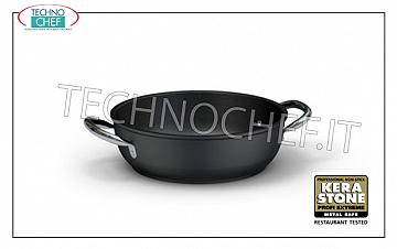 Ballarini Professionale - PAN 2 handles in NON-STICK FORGED Aluminum, 5500 Series PAN 2 handles, HIGH QUALITY PROFESSIONAL NON-STICK SERIES, 5500 SERIES, IN FORGED ALUMINUM, EXTERNAL ANTI-SCRATCH, ANTI-STAIN FINISH, diameter mm. 240, high mm. 75
