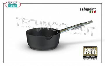 Ballarini Professionale - CONICAL CASSEROLE 1 NON-STICK FORGED Aluminum handle, 5500 Series CONICAL CASSEROLE 1 A MANTECARE handle, SAFEPOINT, HIGH QUALITY PROFESSIONAL NON-STICK, 5500 SERIES, FORGED ALUMINUM, EXTERNAL ANTI-SCRATCH, ANTI-STAIN FINISH, diameter mm. 160, high mm. 75