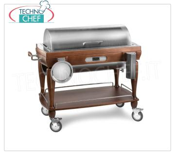 wooden trolleys for boiled meat