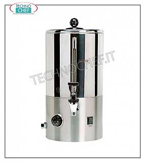 Hot drink dispensers before breakfast Filtered and automatic coffee and tea production machine in 18/10 stainless steel, yield 3 liters / hour, V230 / 1, Kw.1.5, dim.mm.345 x 400 x 560 h