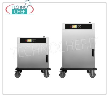 Regeneration and hot holding mobile food cabinets