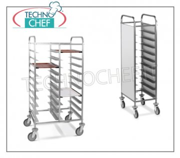 trolleys for self-service trays