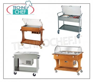 Refrigerated display cart