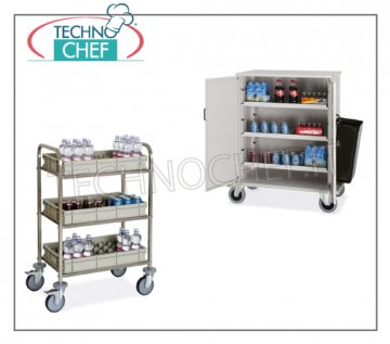 Bar and minibar filling trolleys