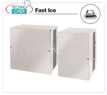 Manufacturers / FAST ICE ice machines with vertical cubes without deposit