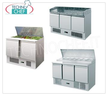 Refrigerated closets saladette