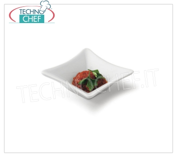 CIOTOLINA QUADRA FINGER FOOD, Party Collection, Cm.9X9, Brand TOGNANA QUADRA BOWL, Party Collection, Cm.9X9, Brand TOGNANA - Can be purchased in packs of 12 pieces