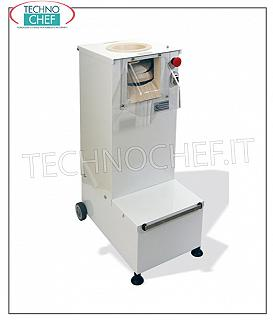 Rounders for Pizza VERTICAL AUTOMATIC PASTRY FOR POTATOES: 20 to 300 grams, RISK from 3500 to 4000 PASTA / HOUR BALLS, MONOFASE VERSION, V.230 / 1, kw 0,55, dimensions mm 390x620x950h
