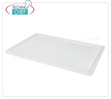 Cover for pizza box from mm.600x400, White color Cover for all models of cassettes in polyethylene food color White, Weight 0,90 Kg, dim.mm.600x400x20h