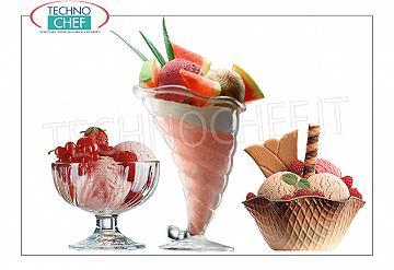 Ice-cream glasses/cups