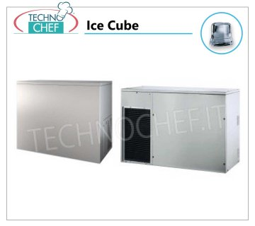 Full ice cube makers without ice bin