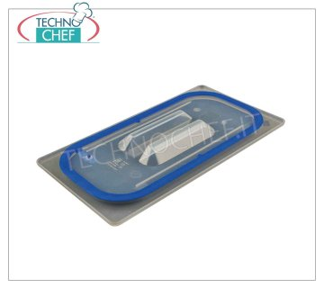 Polypropylene lids for Gastronorm containers, various sizes Lid for gastro-norm 1/1 polypropylene container
