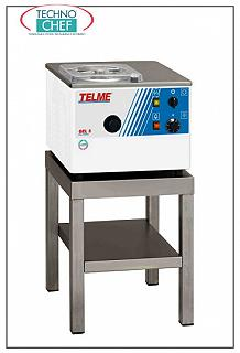 TECHNOCHEF - Professional Ice Cream, Sorbet and Table Granite Machine, Mod.GEL5 MACHINE for: ICE CREAM, SORBET and GRANITE for MANUAL EXTRACTION, CYCLE MIXTURE CAPACITY lt 1,0, hourly production: ICE CREAM 3-5 lt, GRANITA 8-10 lt, air cooling, V.230 / 1, Kw 0,6, dimensions 410x460x320h mm