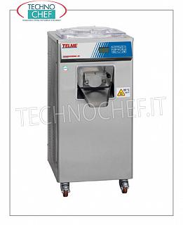 TECHNOCHEF - Cream cooker / Pasteurizer with capacity from 15 to 30 lt, Mod. TERMOCREMA30 CREAM COOKER - PASTEURIZER for the production of all creams or pasteurization of ice cream mixes, capacity from 15 to 30 lt, TEMPERATURES OF USE VARIABLE from + 1 ° to 105 ° C, WATER CONDENSER, V.400 / 3 + N, Kw 4,5, dim.mm.550x650x1150h