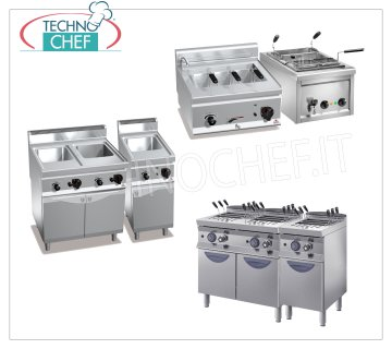 Gas/electric pasta cookers