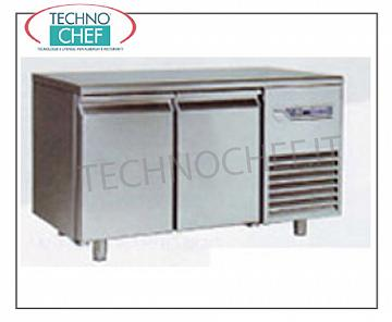 Removable refrigerated tables Removable refrigerated table, 2 doors, ventilated, temp. -10 ° -25 °, lt 280