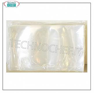 TECHNOCHEF - Disposable bags for vacuum, Lisce, thickness 145 micron Disposable bags for vacuum, smooth, 145 micron thickness, in packs of 100 pieces, size mm. 150x300