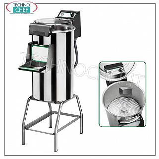 FIMAR - Technochef, Professional Mop Washer on Stand, load capacity Kg 3/5, Mod.LCF / 5 Ice cream cleaner on stand, production capacity Kg / h 60, loading mussels 3/5, V 400/3, Kw 0.26, dimensions 520x700x1010h mm