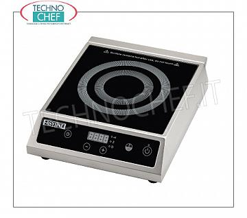 Technochef - INDUCTION PLATE for Table, INDUCTIVE SURFACE Ø from 140 to 220 mm INDUCTION PLATE for table, INDUCTIVE SURFACE: diameter from 140 to 220 mm, V. 230/1, Kw 3,5, Weight 8 Kg, dim. mm. 343x440x120h