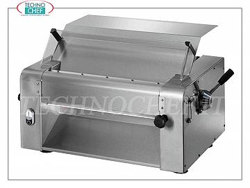FIMAR - Sheeter with 1 pair of 320 mm stainless steel rollers, mod. SI320 SHEETER with 1 PAIR OF STAINLESS STEEL ROLLS for pizza and egg pasta, ROLL LENGTH 320 mm, V 230/1, kW 0,37, dim. mm 580x480x500h