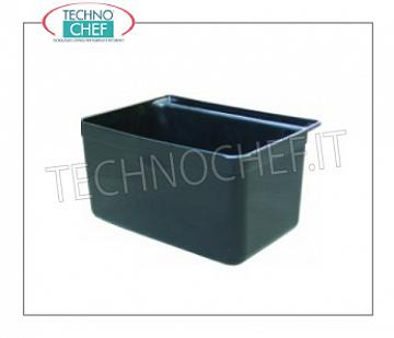 Plastic service trolleys Small basket for Mod.FO-CP1010