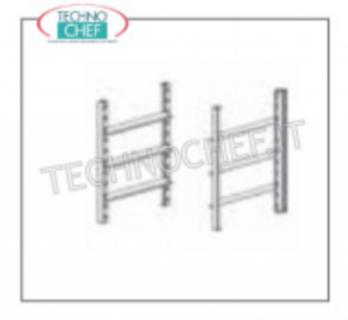 Kit supports and guides for baking trays Kit of supports and guides for trays of mm.600x400